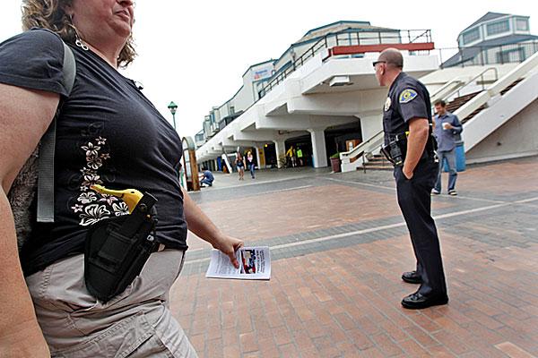 Open Carry Gun Control Bill In Gov Brown S Hands